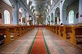 Vārkavas Sv.Trīsvienības Romas katoļu baznīca, zāle.jpg