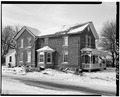 VIEW OF EAST SIDE - Roemer House, 2739 Old Glenview Road, Wilmette, Cook County, IL HABS ILL,16-WILM,3-3.tif