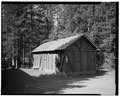 VIEW SOUTH - Snowlodge, Tourist Cabin Type No. 729, 700' southeast of Snowlodge, West Thumb, Teton County, WY HABS WYO,20-OFAIT,3L-1.tif