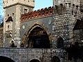 Vajdahunyad castle, gate, 2013 Budapest (347) (13228050854).jpg