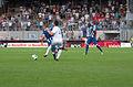 Valais Cup 2013 - OM-FC Porto 13-07-2013 - Marat Izmaylov, Morgan Amalfitano.jpg