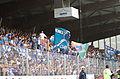 Valais Cup 2013 - OM-FC Porto 13-07-2013 - Tribune de supporteurs portugais.jpg