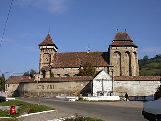 Valea Viilor fortified church - Image: Valea Viilor Biserica fortificata