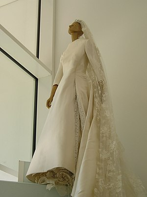 A wedding dress by Valentino