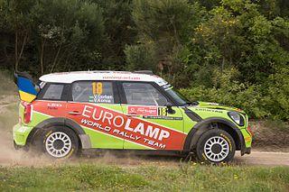 Mini John Cooper Works WRC World Rally Championship car