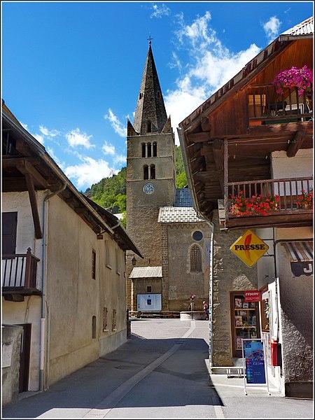 Vallouise - l'église