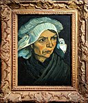 Van Gogh - Head of a Peasant Woman with White Cap with frame.jpg