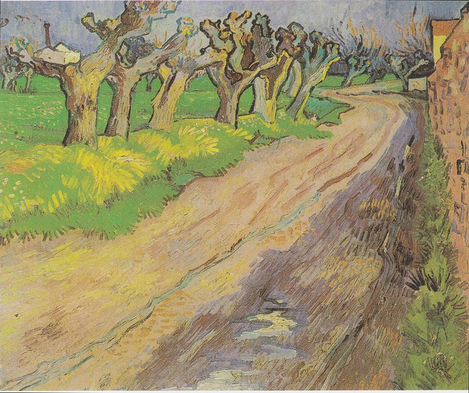 Vicent van Gogh: Paisaje con Sauces podados (1882).