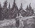 Van Gogh - Zypressenweg mit Liebespaar - Der Garten des Dichters IV.jpeg