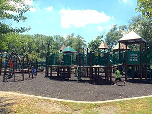 Playground - The playground at Van Saun Park in Paramus, New Jersey.