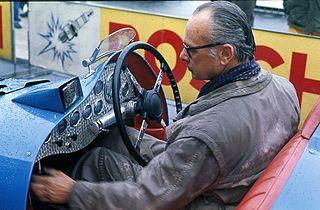 Dries van der Lof Dutch racing driver