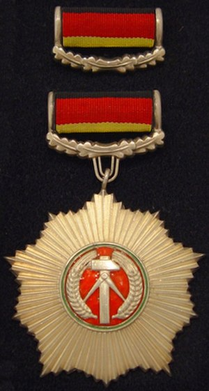 Patriotic Order of Merit - Patriotic Order of Merit in gold