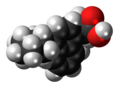 Vedaprofen molecule spacefill.png