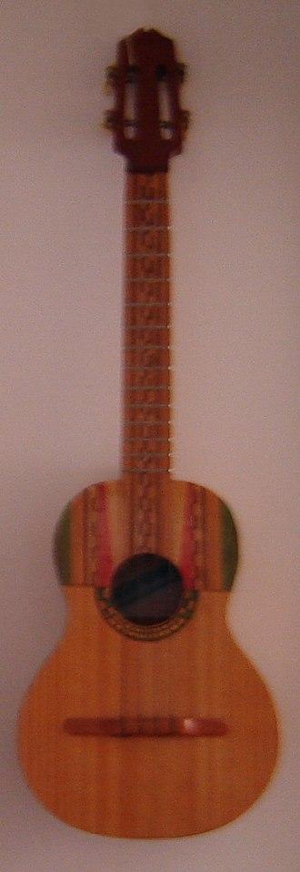 Cuatro (instrument) - Venezuelan Folk Cuatro