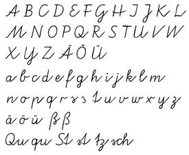 Kurrent wikipedia vereinfachte ausgangsschrift an example of german school handwriting after the decline of fraktur and kurrent altavistaventures Choice Image