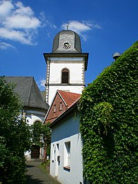 Verl - St. Anna Kirche - Blick auf den Turm.jpg