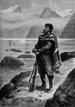 Verne - Les Naufragés du Jonathan, Hetzel, 1909, Ill. page 22