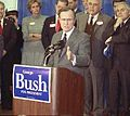 Vice President George Bush holds a press converence in Nashua, NH (cropped1).jpg
