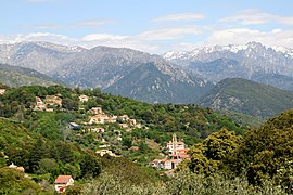 A view of the village of Vico