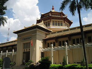 Museum of Vietnamese History - The museum in July 2010