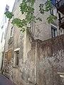 Vieux tours 1 rue des Cordeliers, maison noble XVe siècle en brique recouverte d'un enduit.jpg