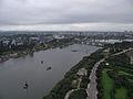 View from the 32nd floor Yanggakdo Hotel, Pyongyang (6075744628).jpg