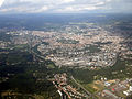 View of Brno from airplane.JPG