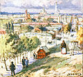 View of Kharkiv from Kholodnaya Gora, c. 1900.jpg