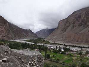 Turtuk - View of Shyok Valley