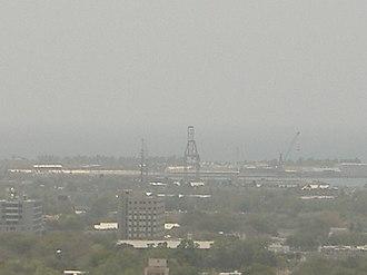Rafael Cordero Santiago Port of the Americas - Image: View of the Port of the Americas