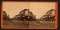 Views of street, buildings and three men standing, Santa Cruz?, by Bell, W. A. , fl. 187-.png