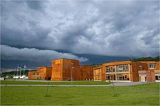 Haabneeme - Newly built Viimsi Secondary School in Haabneeme.