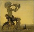 Vill Vallareman (a Fairy Shepherd) (John Bauer) - Nationalmuseum - 24283.tif
