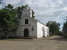 Church in the centre of Villa Vieja