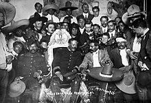 Villa y Zapata el 4 de diciembre en la silla presidencial