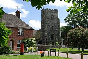 Chartham - Image: Village Church, Chartham geograph.org.uk 663007