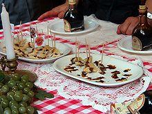 Parmigiano e Aceto balsamico tradizionale