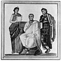 Virgil. Mosaic portrait, found in Tunis. Wellcome M0005633.jpg
