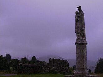 Cistercian Way (Wales) - Virgin Mary, Penrhys