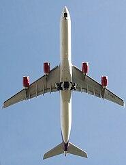 Virgin a340-600 g-vmeg planform arp