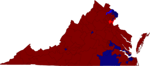Virginia House of Delegates election results map 2015.png