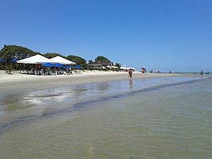 Praia da Coroa Vermelha em Santa Cruz Cabrália