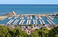 Vista del port de Dénia des del castell.JPG