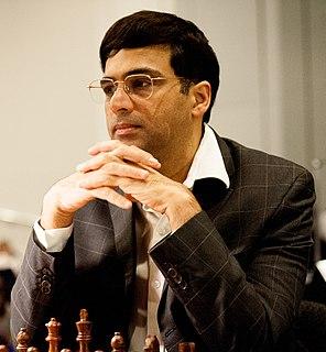 Viswanathan Anand Indian chess grandmaster and world chess champion