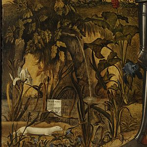 Young Knight in a Landscape - Image: Vittore Carpaccio Young Knight in a Landscape Google Art Project x 0 y 2