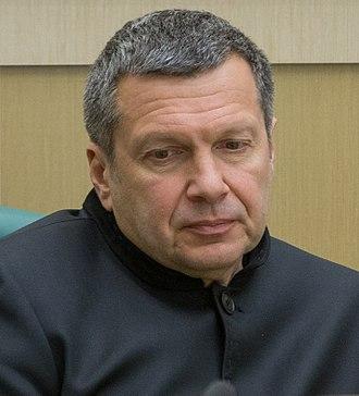 Vladimir Solovyov (journalist) - Vladimir Solovyov in 2018