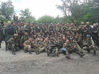Right Sector - Fighters of the Ukrainian Volunteer Corps (DUK)