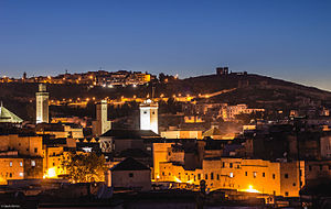 Fez, Morocco - Image: Vue sur la médina