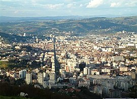 Overview of Saint-Étienne