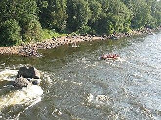 Vuoksi River - Image: Vuoksa losevskie porogi